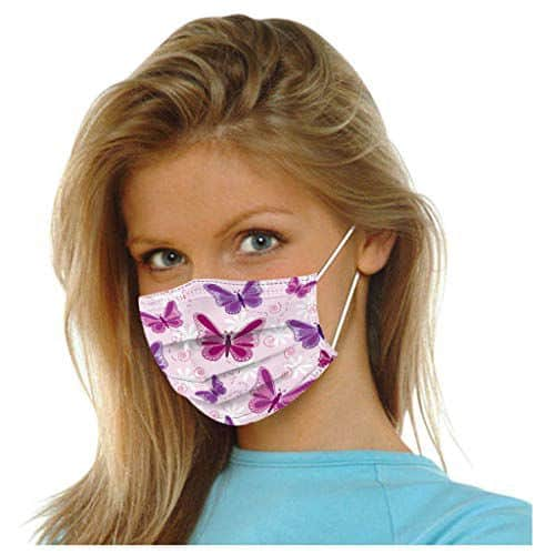 3ply butterfly mask